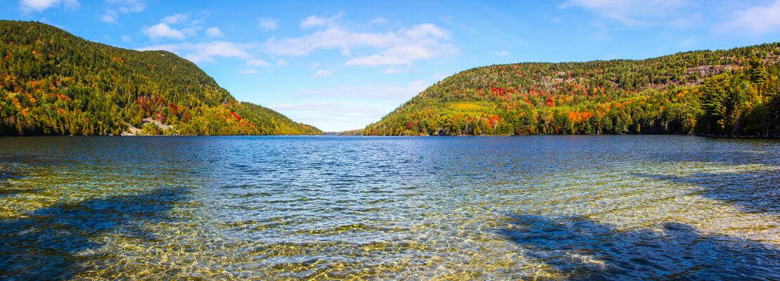 Beautiful lake in Acadia Natinoal Park