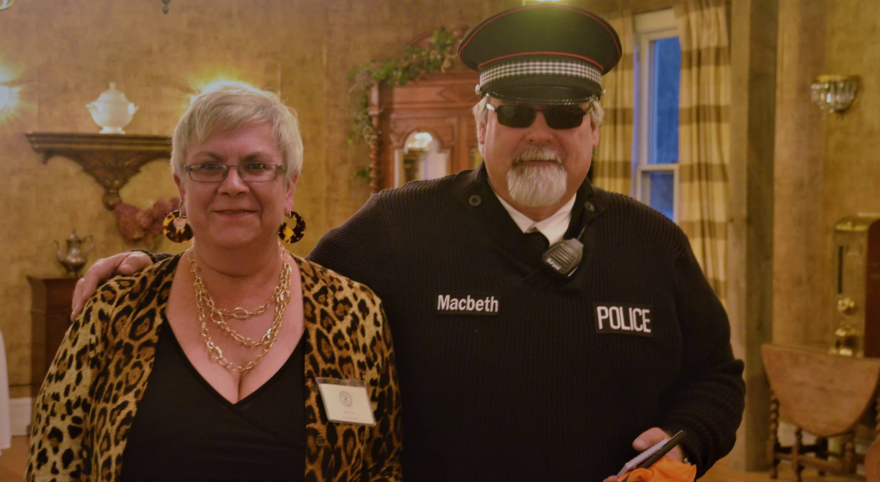 Participants in the Murder Mystery at Captain Nickels Inn