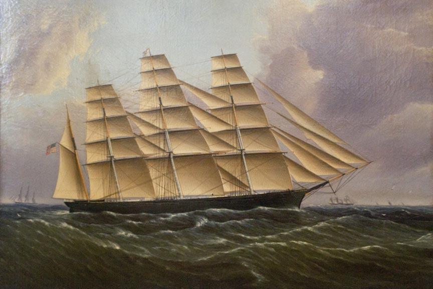 James E Buttersworth Great Republic