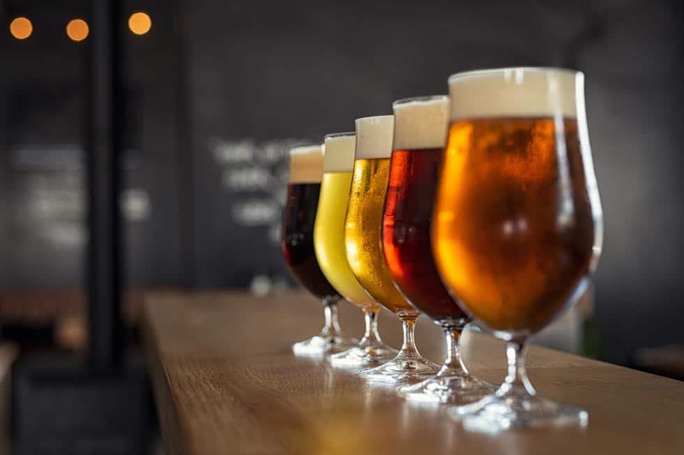 Maine Breweries Beer varieties