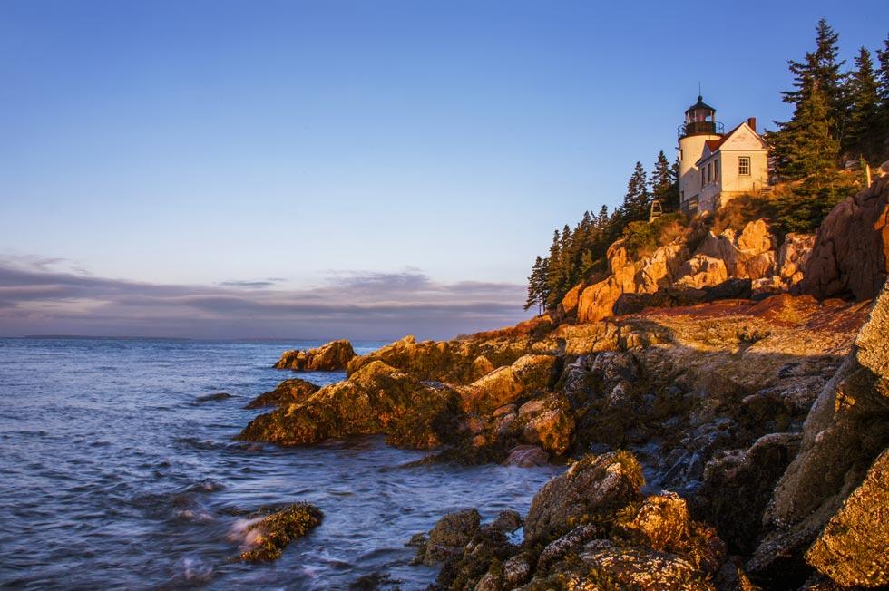 Maine Lighthouses Bass Harbor Head Light