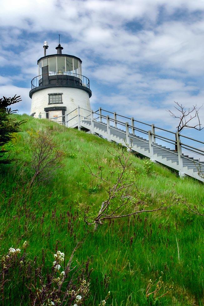 Maine Lighthouses Owls Head Light