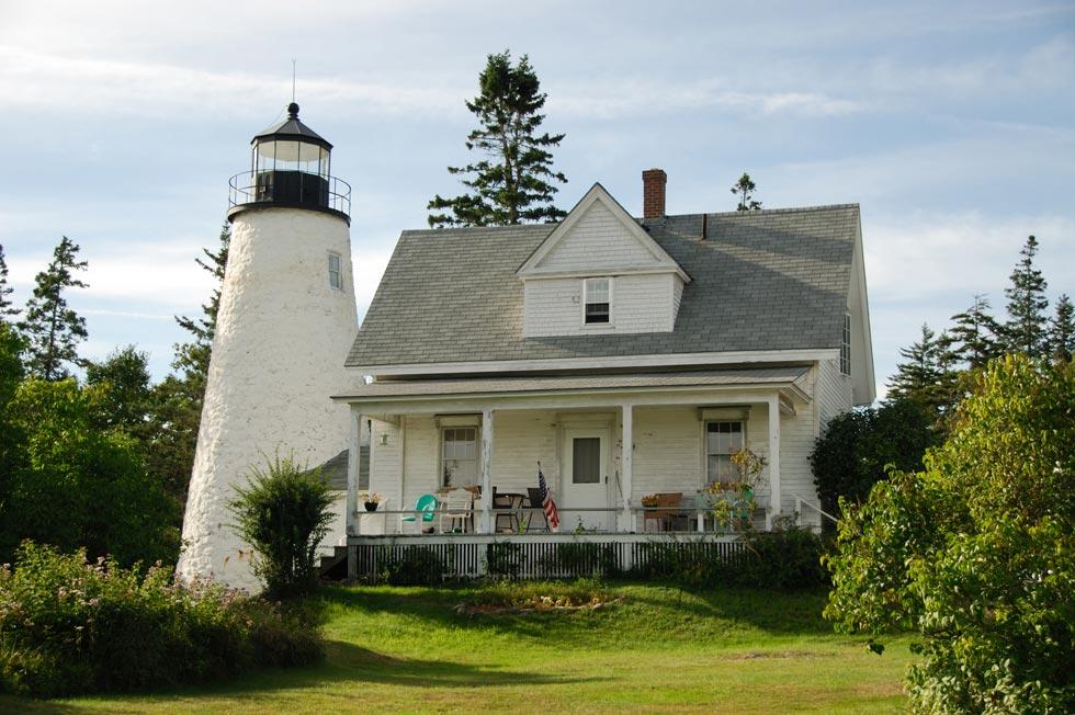 Dyce Head Lighthouse in Castine Maine