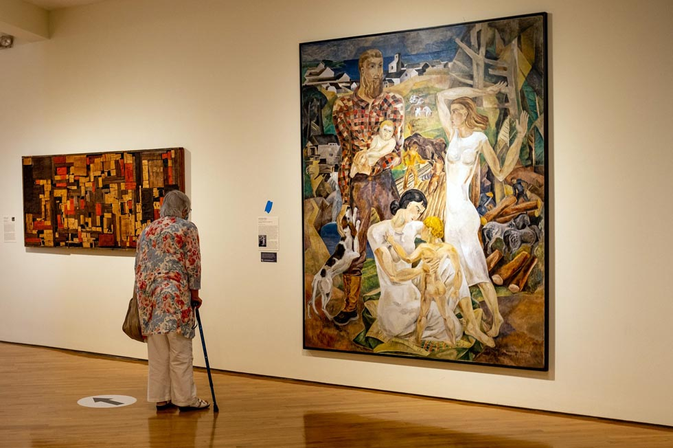 Farnsworth Art Museum gallery