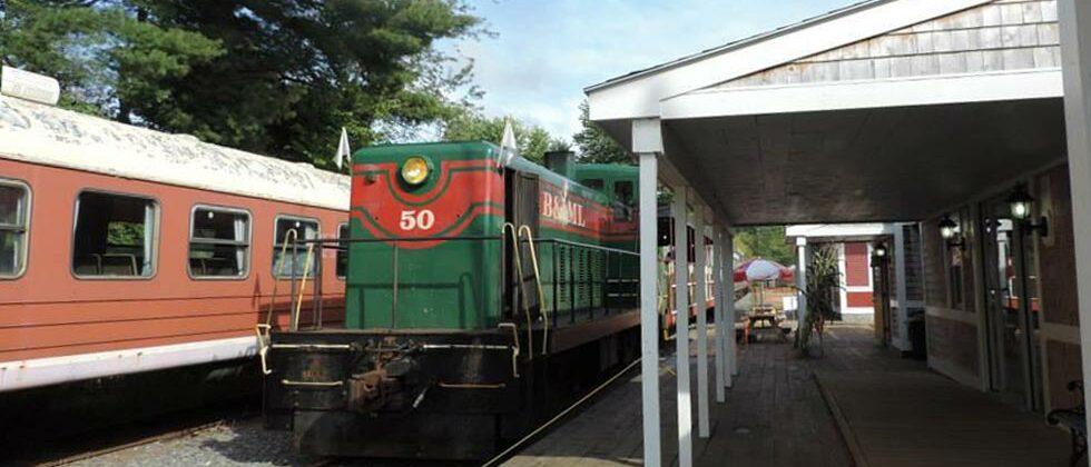 Belfast and Moosehead Lake Railroad Unity Station
