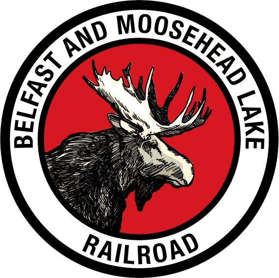 Belfast and Moosehead Lake Railroad Logo